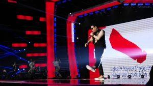 Kapan lagi bisa melihat si Opa Gangnam Style sedekat ini?