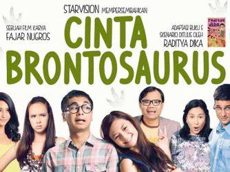 Cinta Brontosaurus: Film Komedi Kaku Ala Raditya Dika