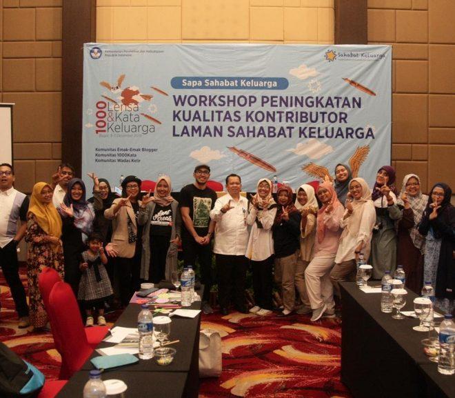 Berbagi Ilmu Bareng Emak-Emak Blogger di Workshop Sahabat Keluarga Kemdikbud